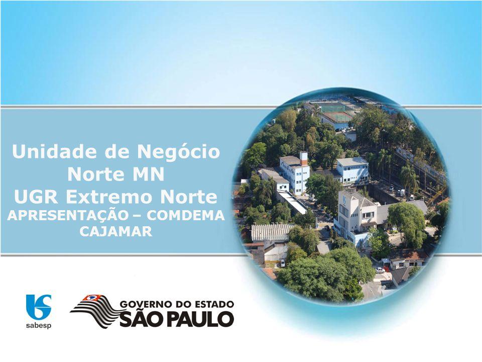 Unidade de Negócio Norte MN UGR Extremo Norte APRESENTAÇÃO – COMDEMA CAJAMAR