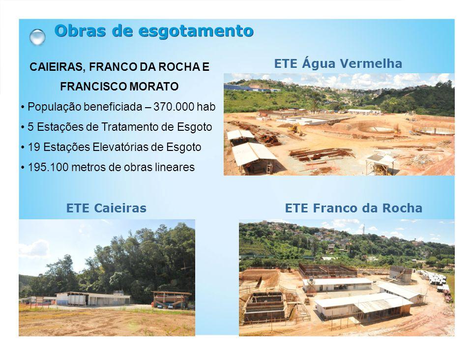 CAIEIRAS, FRANCO DA ROCHA E FRANCISCO MORATO