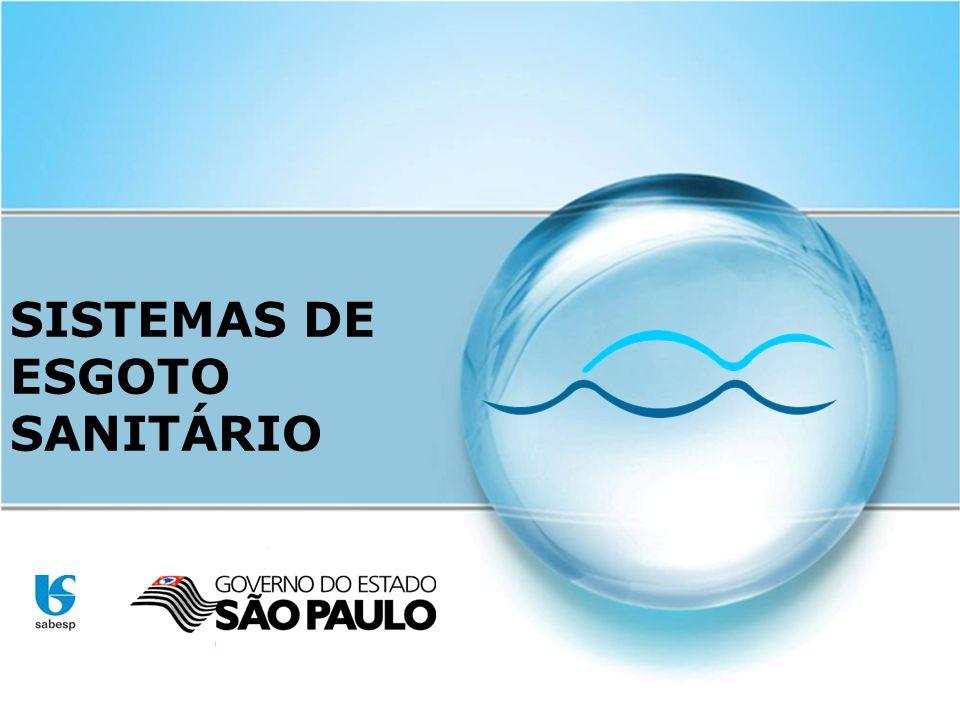 SISTEMAS DE ESGOTO SANITÁRIO