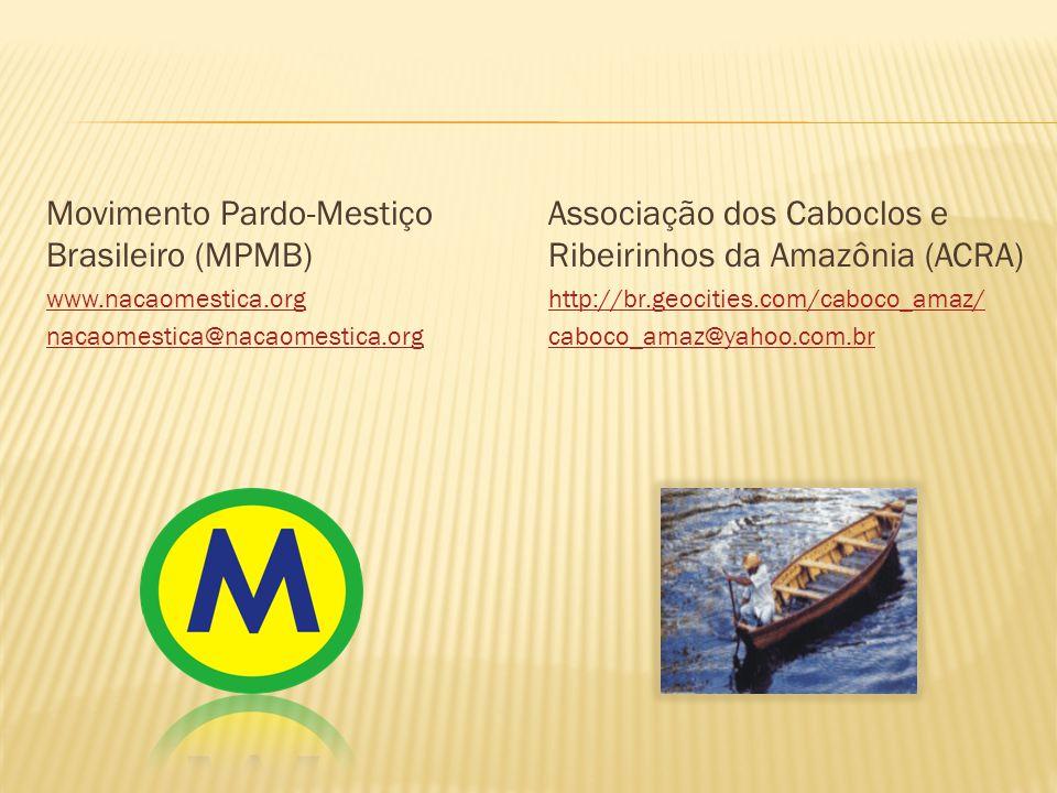 Movimento Pardo-Mestiço Brasileiro (MPMB)