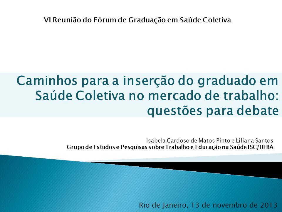 VI Reunião do Fórum de Graduação em Saúde Coletiva