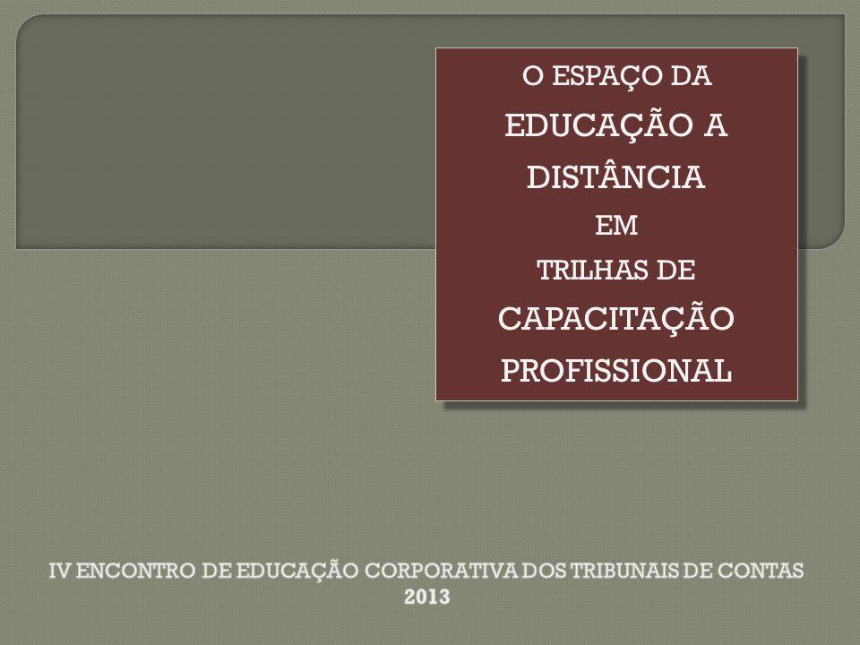 IV ENCONTRO DE EDUCAÇÃO CORPORATIVA DOS TRIBUNAIS DE CONTAS 2013