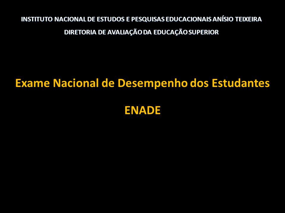 Exame Nacional de Desempenho dos Estudantes ENADE