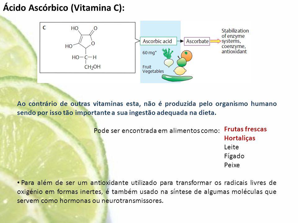 Ácido Ascórbico (Vitamina C):
