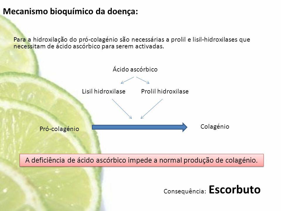 Mecanismo bioquímico da doença:
