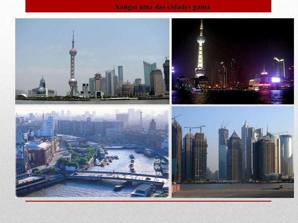 Xangai uma das cidades gama