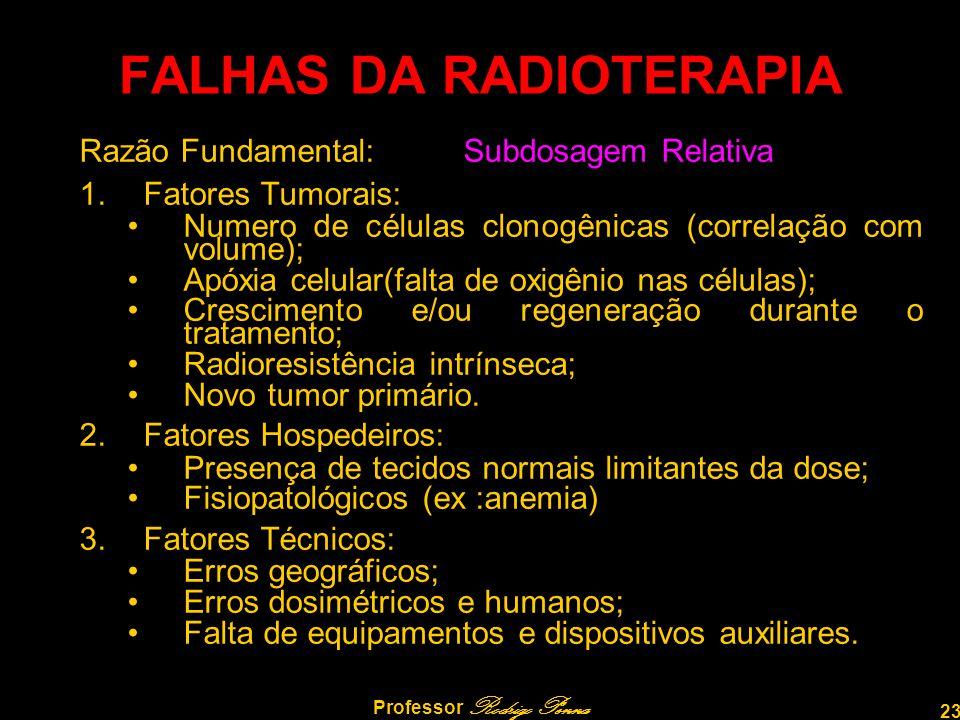 FALHAS DA RADIOTERAPIA
