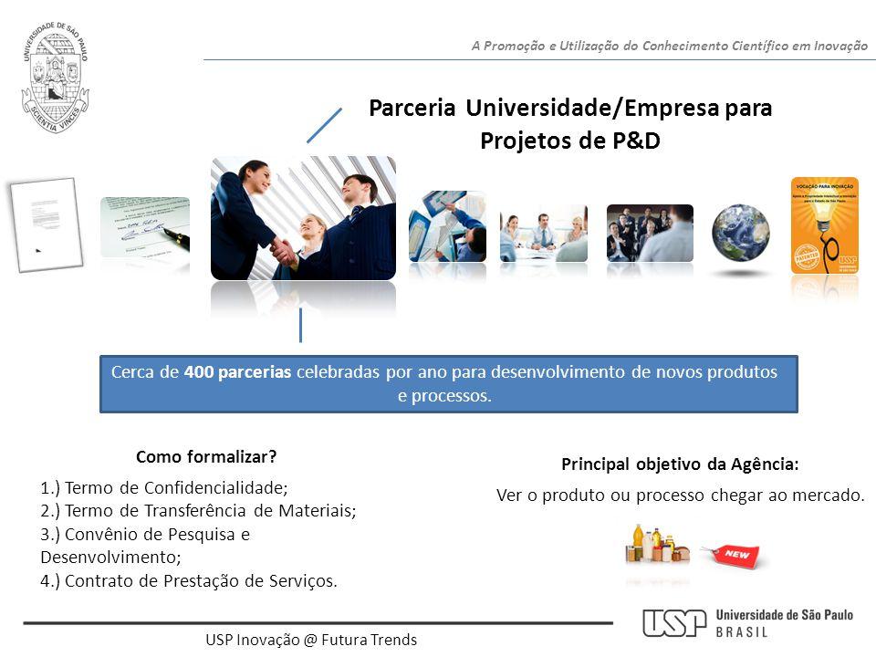 Parceria Universidade/Empresa para Projetos de P&D