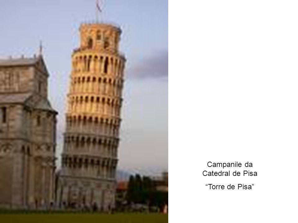 Campanile da Catedral de Pisa
