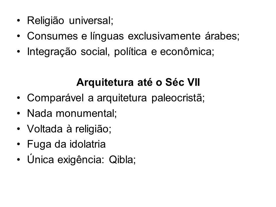 Arquitetura até o Séc VII
