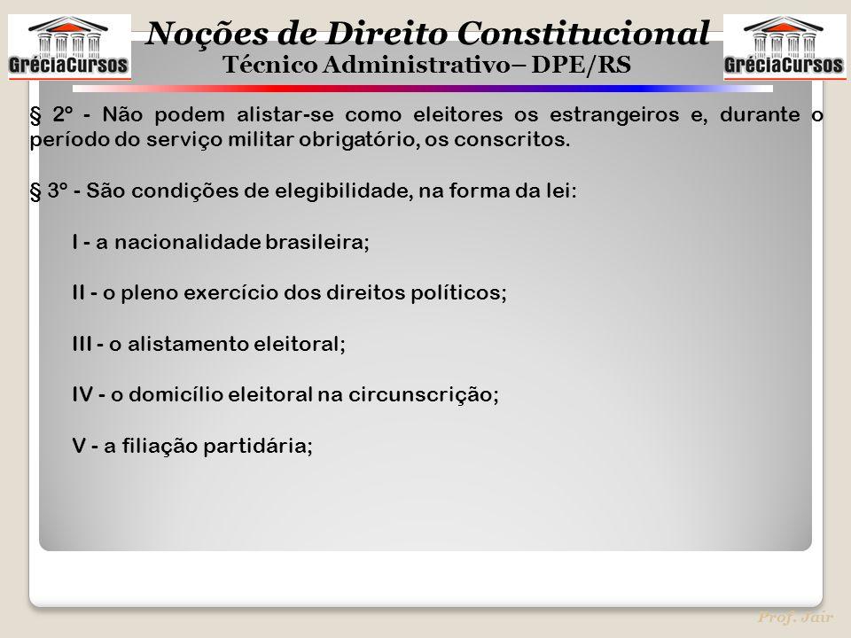 § 2º - Não podem alistar-se como eleitores os estrangeiros e, durante o período do serviço militar obrigatório, os conscritos.