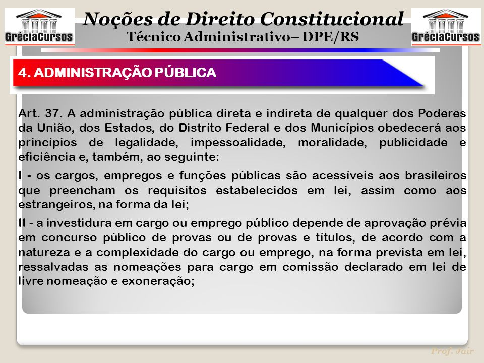 4. ADMINISTRAÇÃO PÚBLICA