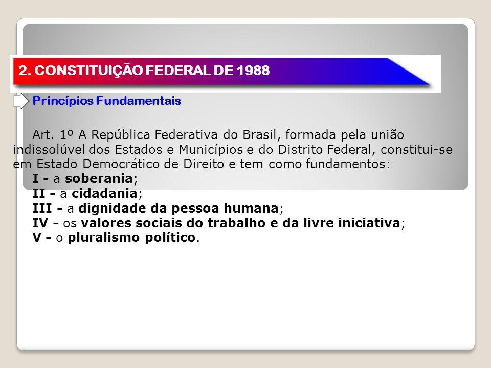 2. CONSTITUIÇÃO FEDERAL DE 1988