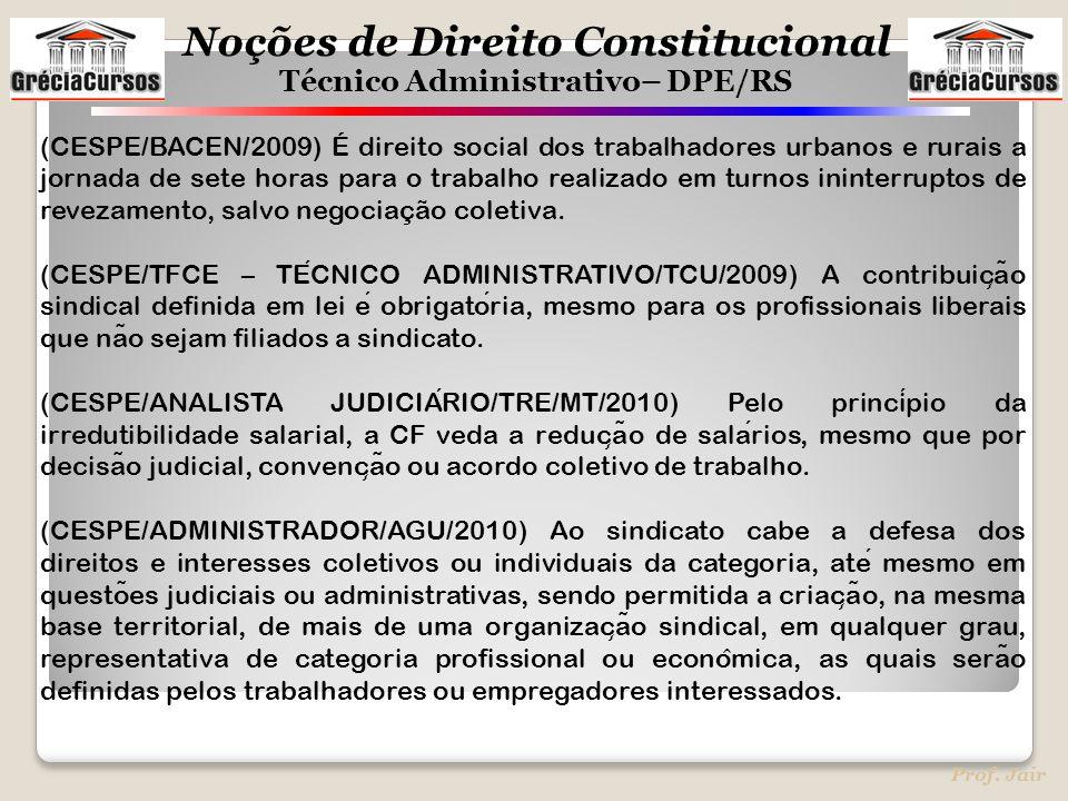 (CESPE/BACEN/2009) É direito social dos trabalhadores urbanos e rurais a jornada de sete horas para o trabalho realizado em turnos ininterruptos de revezamento, salvo negociação coletiva.