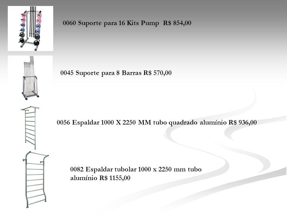 0060 Suporte para 16 Kits Pump R$ 854,00