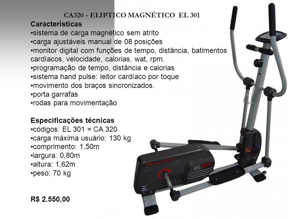 CA320 - ELIPTICO MAGNÉTICO EL 301