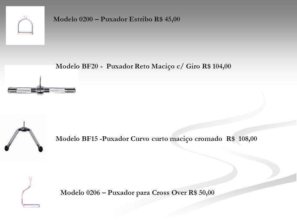 Modelo 0200 – Puxador Estribo R$ 45,00