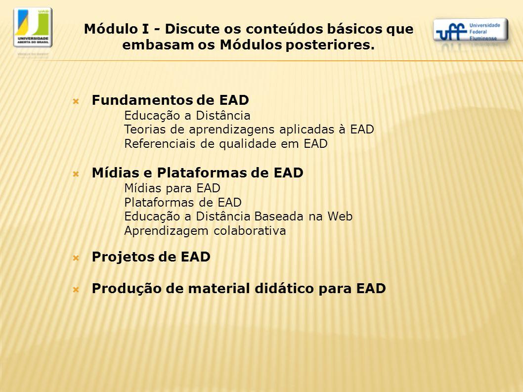 Mídias e Plataformas de EAD