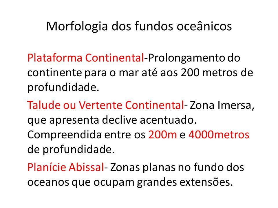Morfologia dos fundos oceânicos