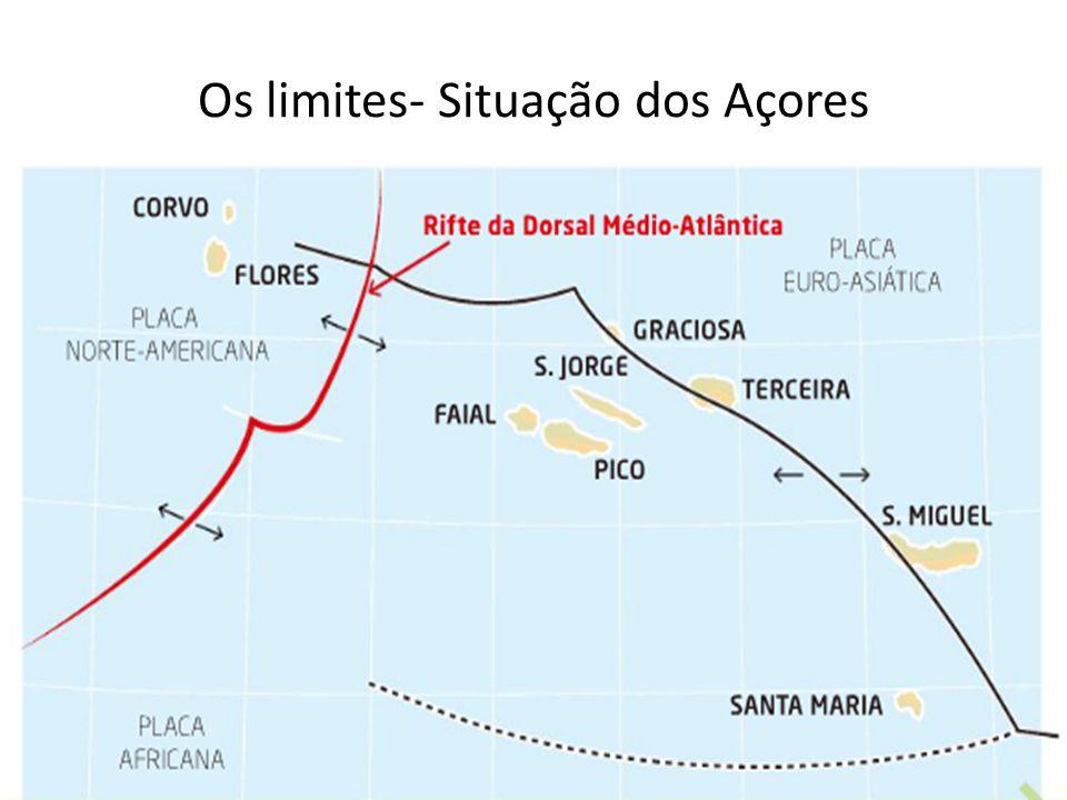Os limites- Situação dos Açores