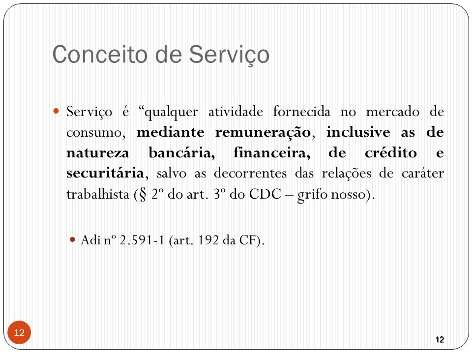 Conceito de Serviço