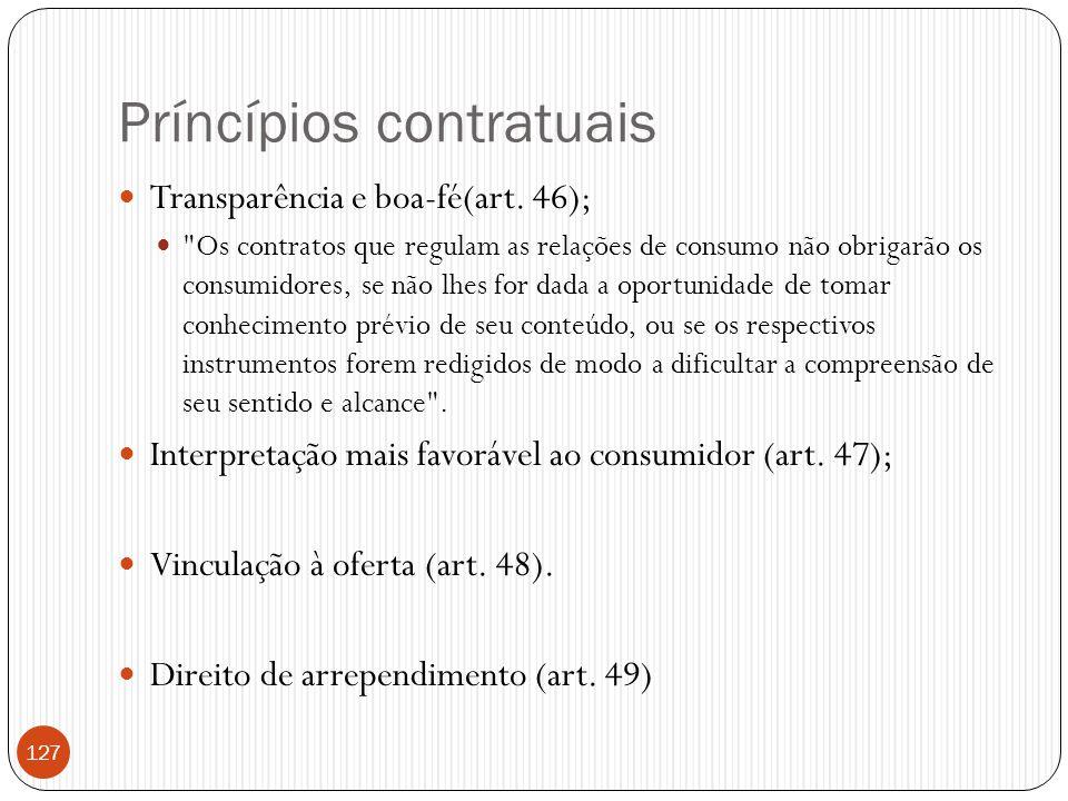 Príncípios contratuais