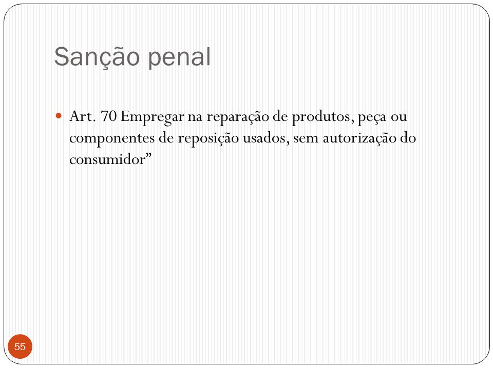 Sanção penal Art.