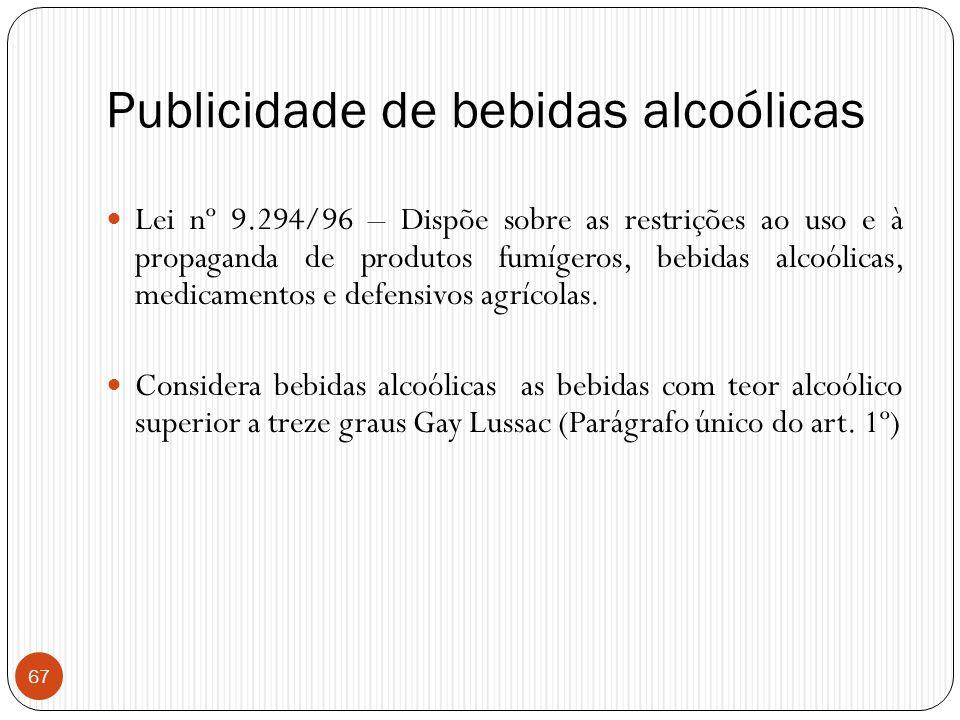 Publicidade de bebidas alcoólicas