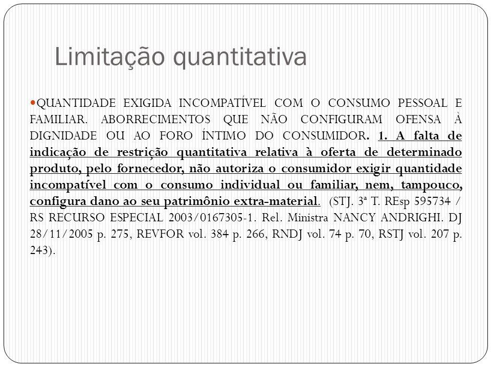 Limitação quantitativa