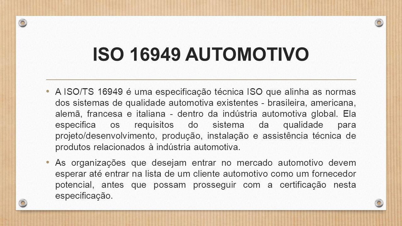 ISO 16949 AUTOMOTIVO
