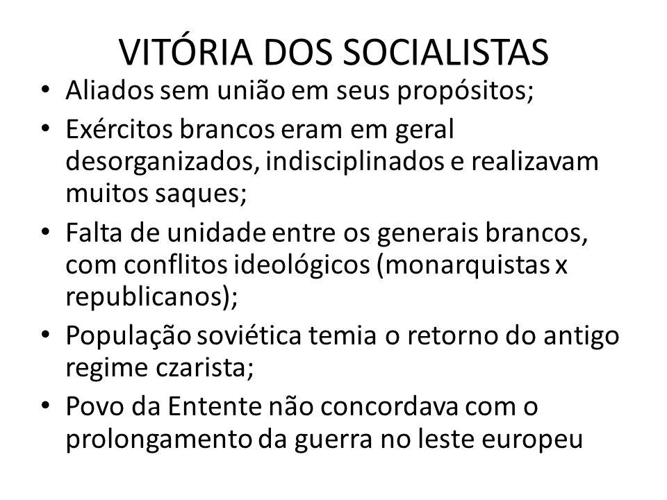 VITÓRIA DOS SOCIALISTAS