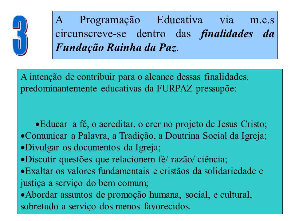 A Programação Educativa via m. c