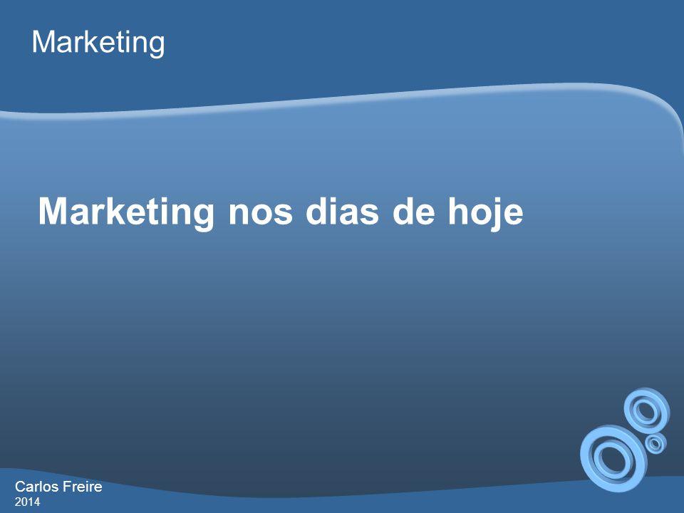 Marketing nos dias de hoje