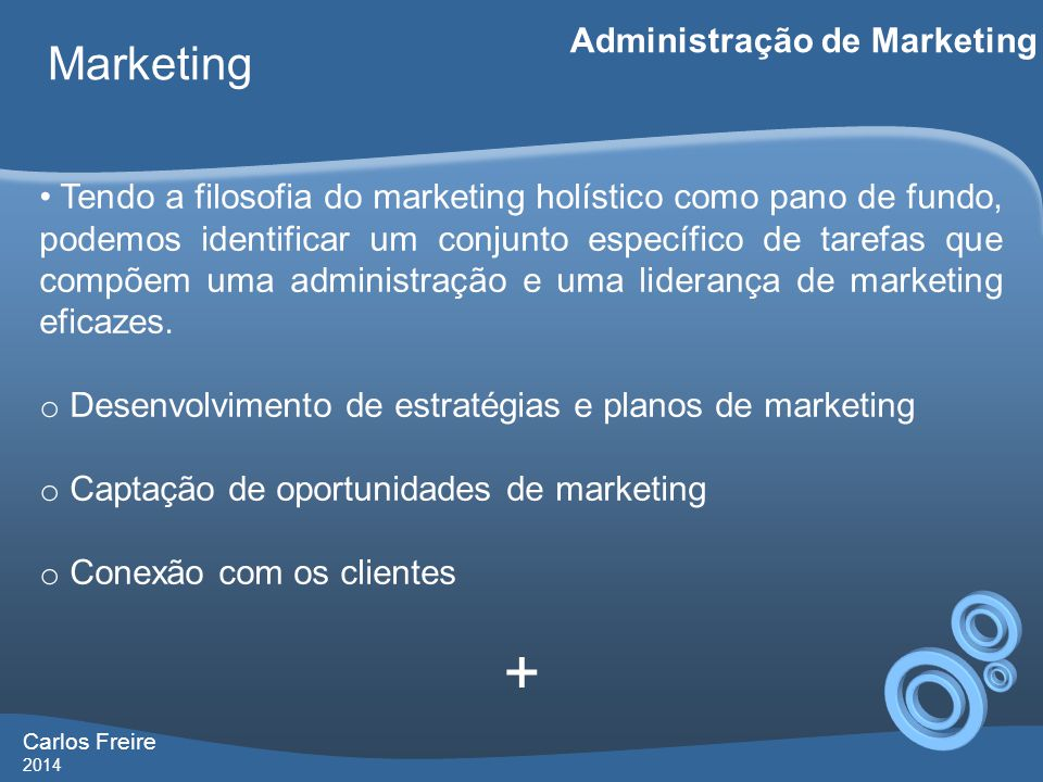 + Marketing Administração de Marketing