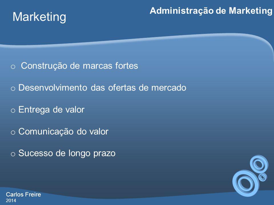 Marketing Administração de Marketing Construção de marcas fortes