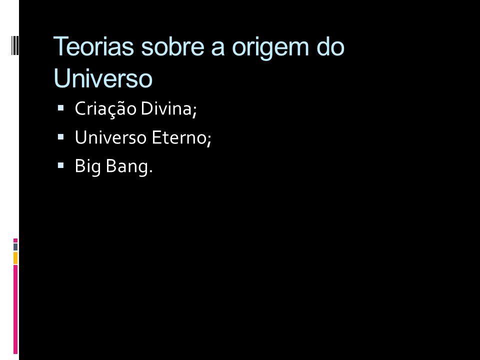Teorias sobre a origem do Universo