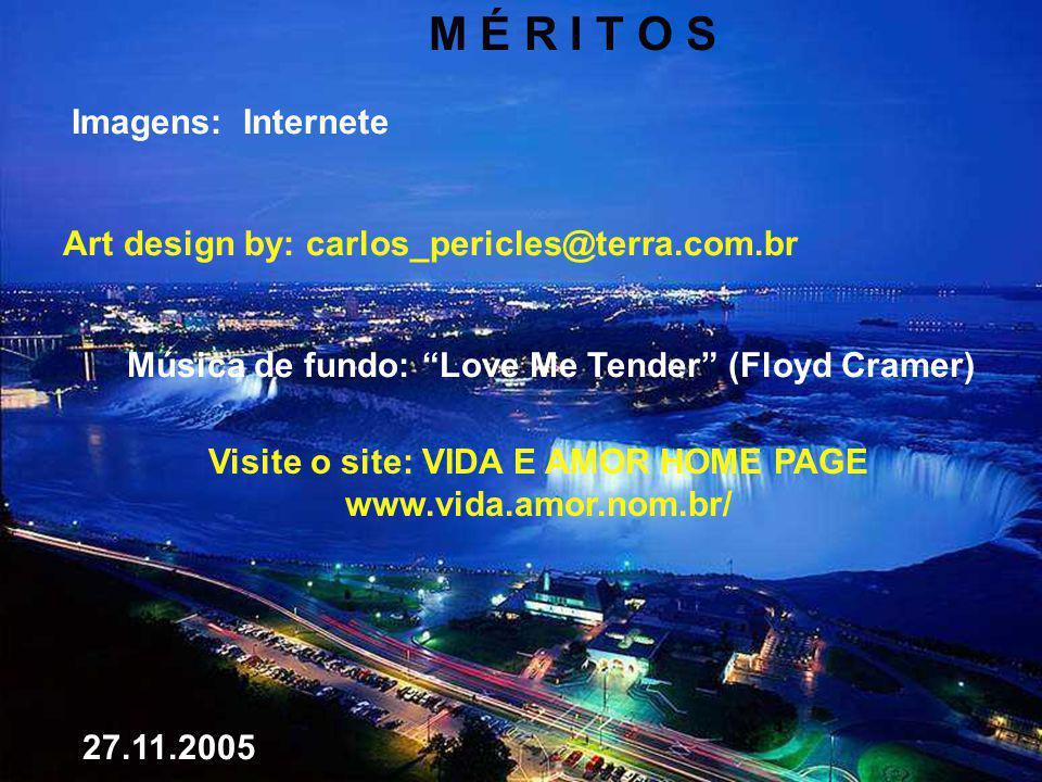 M É R I T O S Imagens: Internete