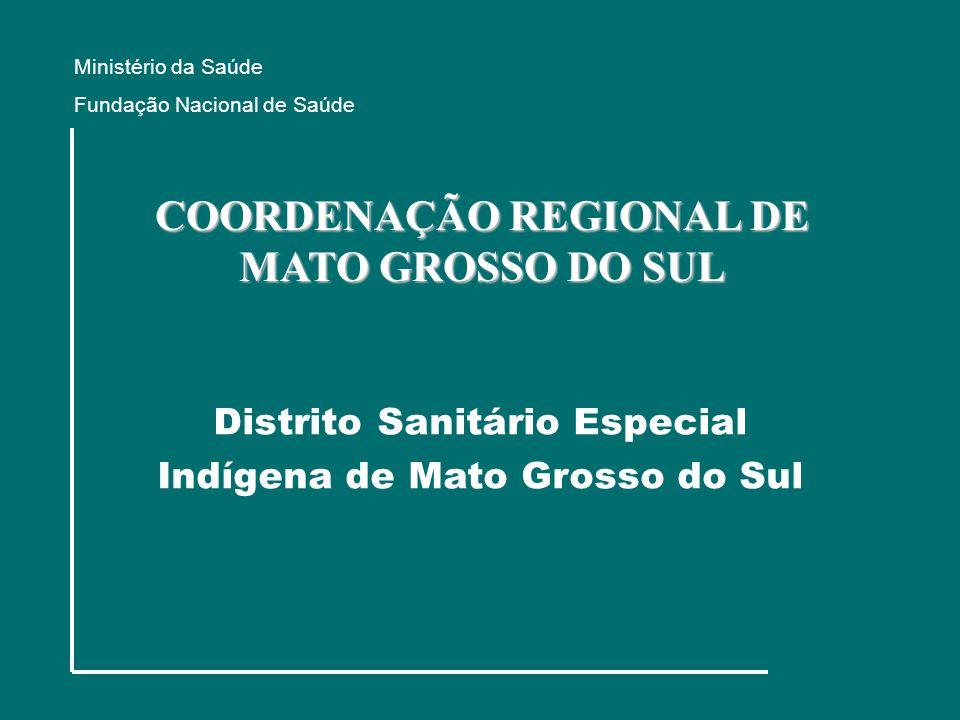 COORDENAÇÃO REGIONAL DE MATO GROSSO DO SUL