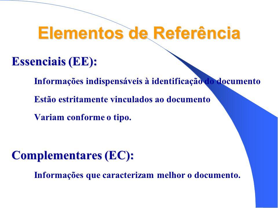 Elementos de Referência