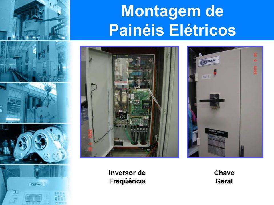 Montagem de Painéis Elétricos Inversor de Freqüência