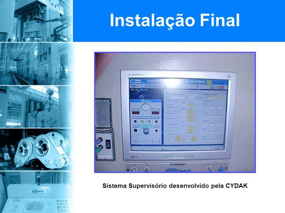 Sistema Supervisório desenvolvido pela CYDAK