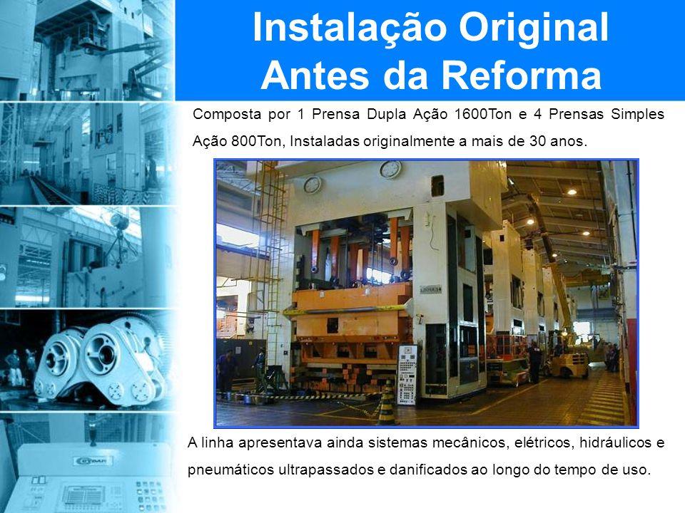 Instalação Original Antes da Reforma