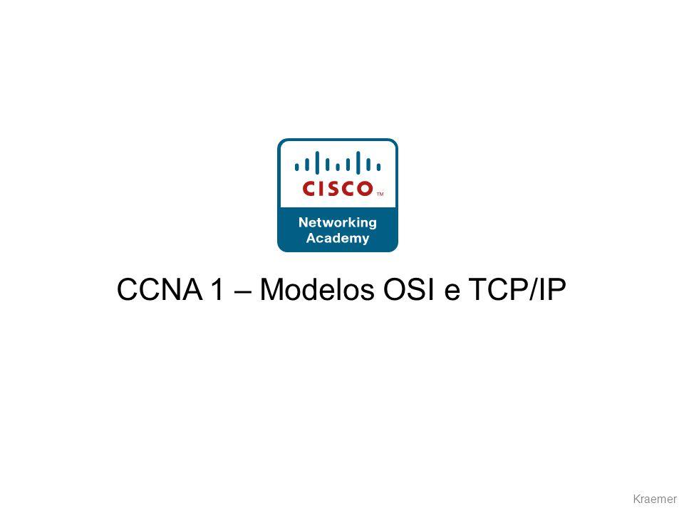 CCNA 1 – Modelos OSI e TCP/IP