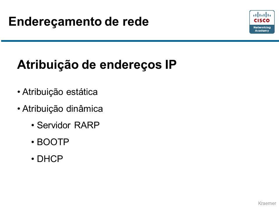 Atribuição de endereços IP