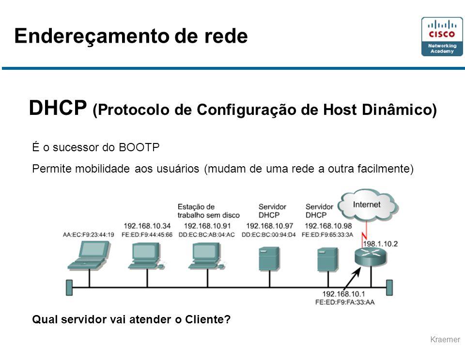 DHCP (Protocolo de Configuração de Host Dinâmico)