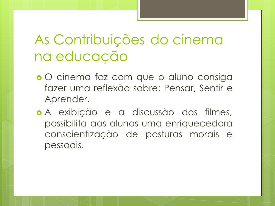 As Contribuições do cinema na educação
