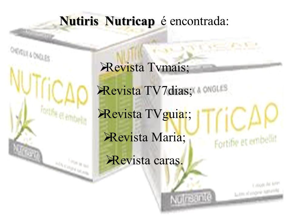 Nutiris Nutricap é encontrada: