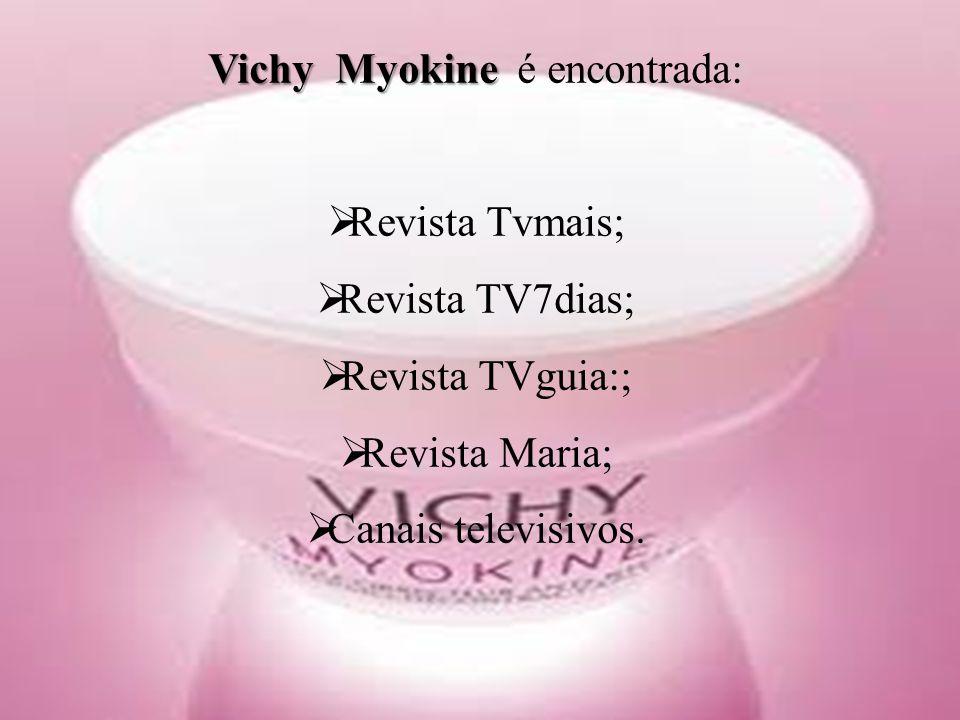 Vichy Myokine é encontrada: