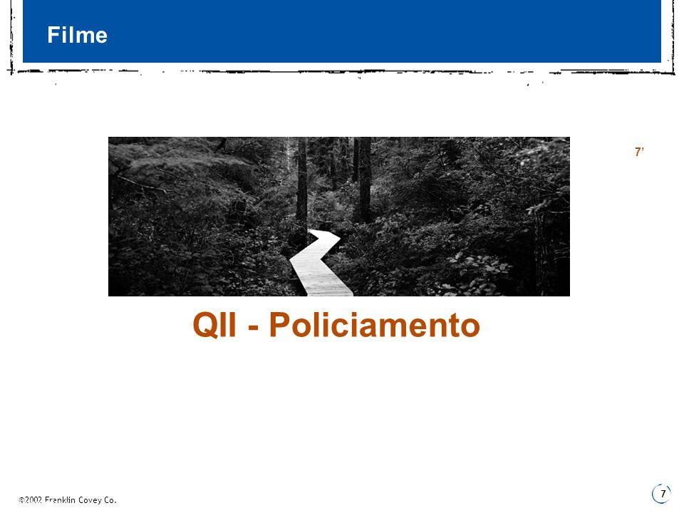 Filme 7' QII - Policiamento 3 Fundamentos