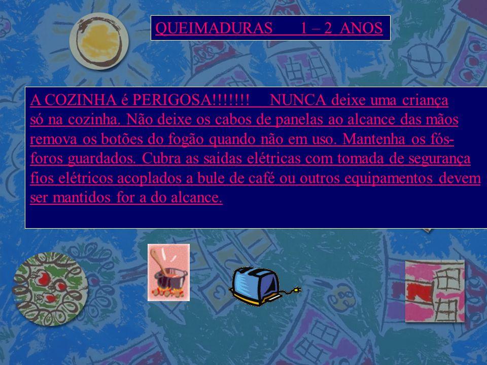 QUEIMADURAS 1 – 2 ANOS A COZINHA é PERIGOSA!!!!!!! NUNCA deixe uma criança.